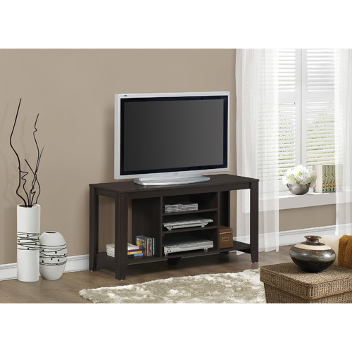 "Monarch Tv Stand Cappuccino For TVs Up To 48""L"