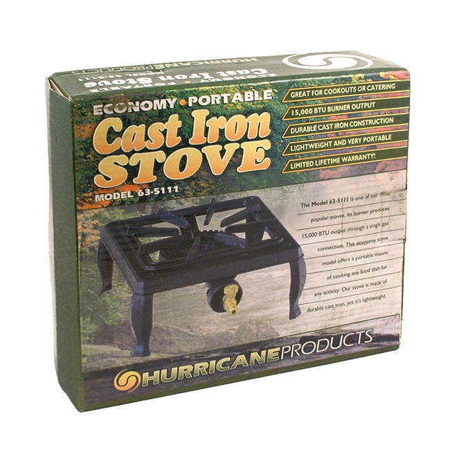 Gas Stove Single Burner by Hurricane Products