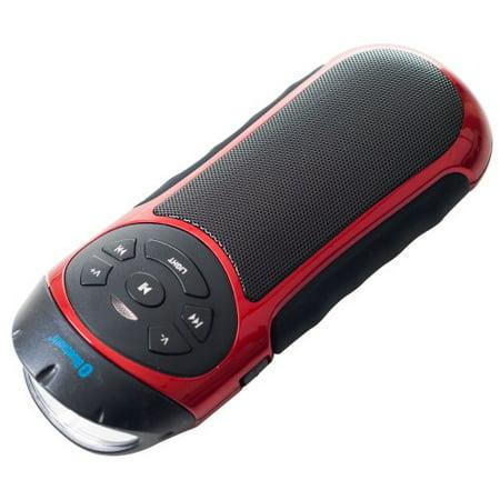 Northwest Portable Bluetooth Speaker with Flashlight and Bike