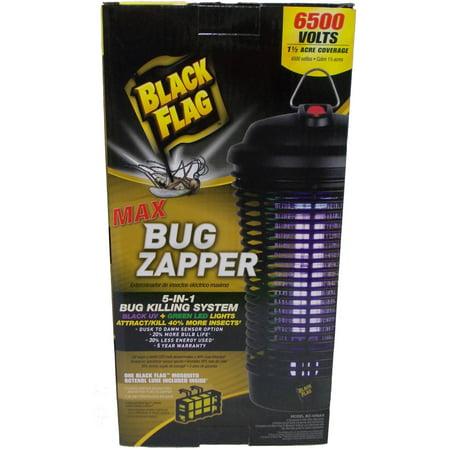 Black Flag 40-Watt Max Zapper (Black Flag 5 In 1 Bug Zapper)