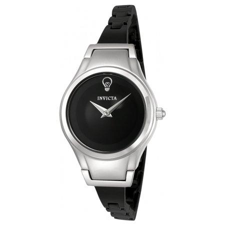 Invicta 23270 Womens Gabrielle Union Black Dial Black Ip Steel Bracelet Watch
