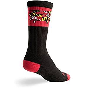 SockGuy Classic Hippo L//XL Cycling//Running Socks
