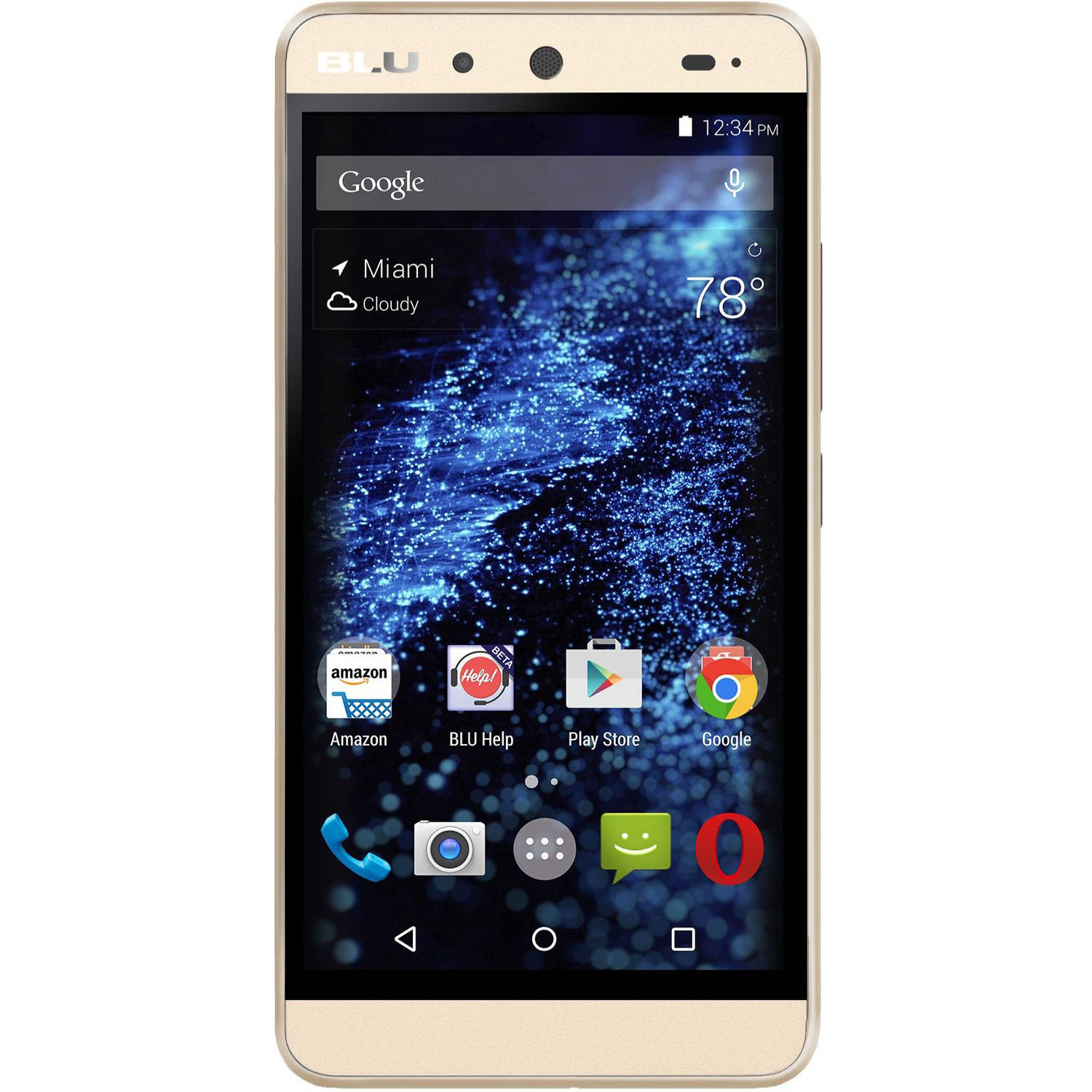 BLU Energy X E010Q 8GB GSM Android Quad-Core Smartphone (Unlocked)