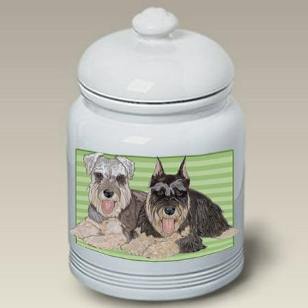 Schnauzers - Best of Breed Dog Treat Jar