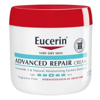 Eucerin Advanced Repair Cream, Use After Hand Washing, 16 oz. Jar