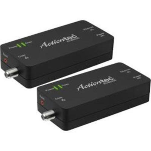 Actiontec Moca 2.0 Ethernet To Coax Network Adapter- 2-pack - 1 X Network [rj-45] - Gigabit Ethernet - 10/100/1000base-tx (ecb6000k02)