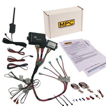 Complete Remote Start & Keyless Entry For 2003-2007 Chevrolet Suburban -Prewired