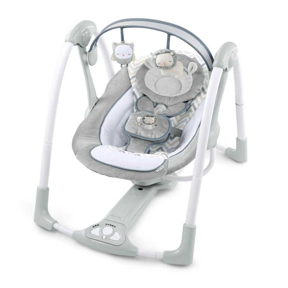 Ingenuity PowerAdapt Portable Compact Swing with AC Adapter - Braden