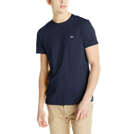 Lacoste Short Sleeve Jersey Pima Regular Fit T-shirt - Mens