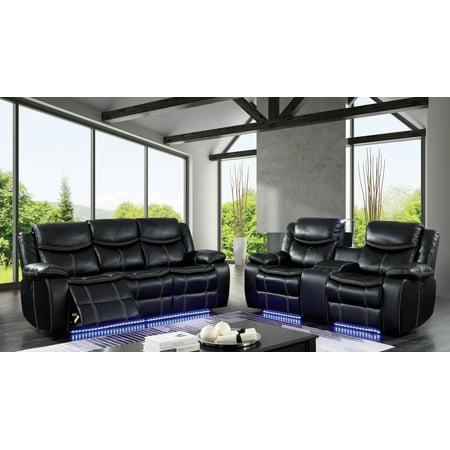 Pleasing Furniture Of America Kristoffer Led Bluetooth Power Recliner Sofa And Love Seat Set Short Links Chair Design For Home Short Linksinfo