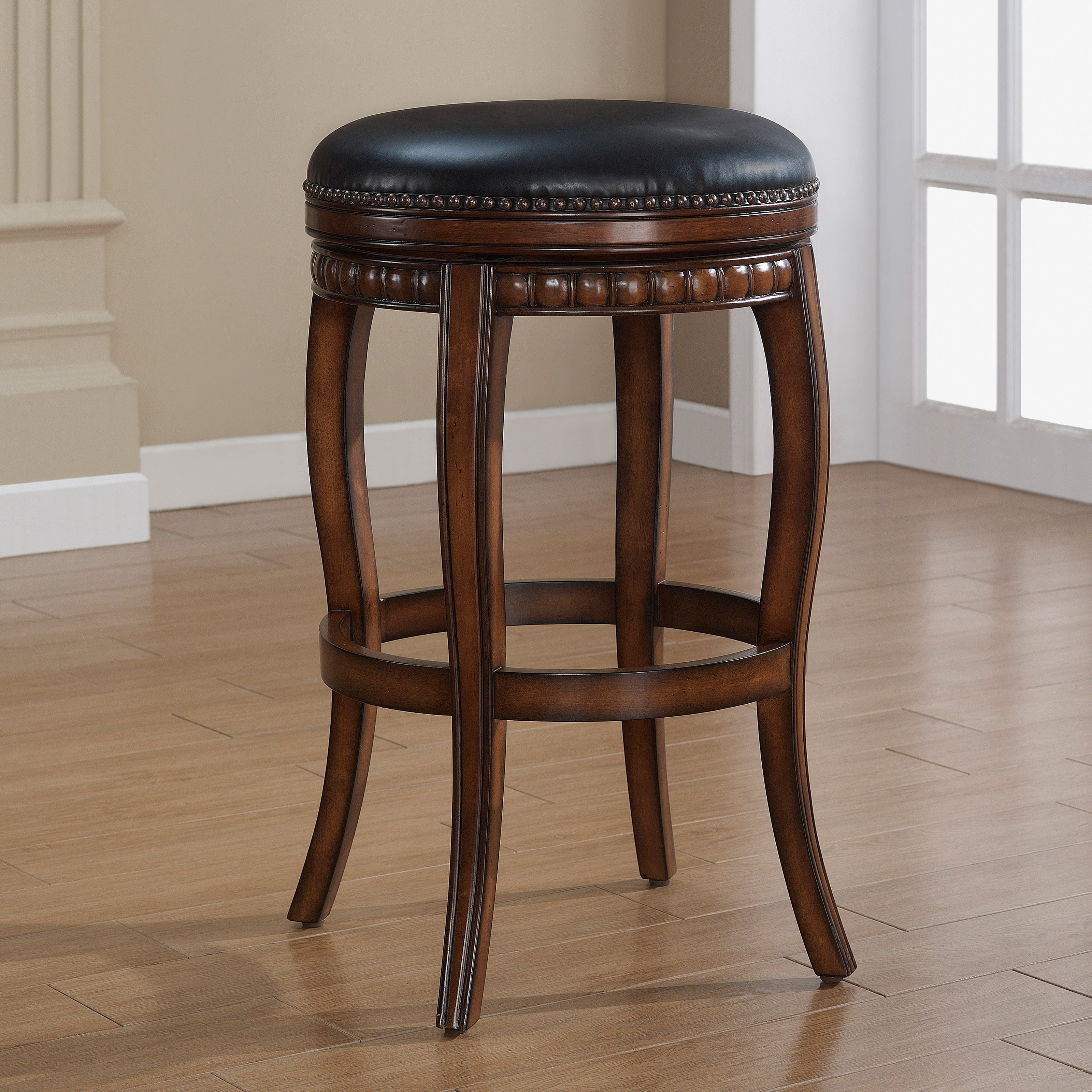 American Heritage 30 in. Alonza Swivel Bar Stool