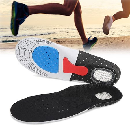 Shoes Insole Full Length Orthotic Inserts with Arch Support - Best Shock Absorption, Cushioning Insoles for Plantar Fasciitis, Running, Flat Feet, Heel Spurs, Foot Pain, 2pair (Best Arch Supports For Overpronation)