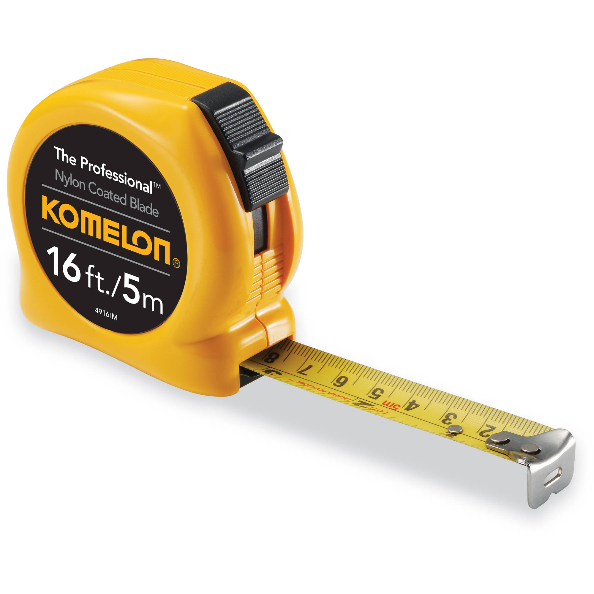 Komelon 16'/5m Professional Inch/Metric Tape Measure