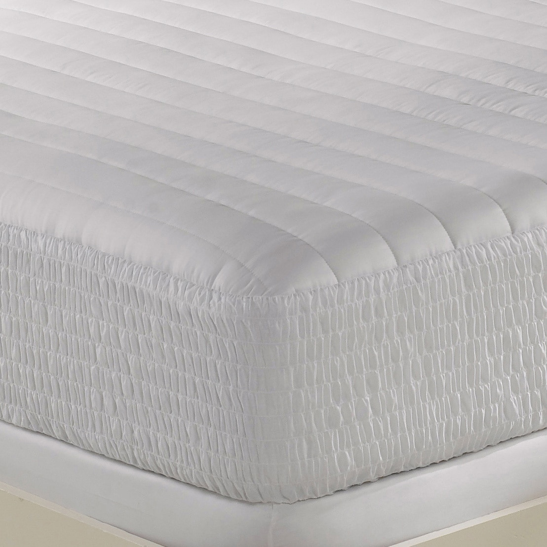 Simmons Beautyrest Beautyrest 300 Thread Count Egyptian Cotton Mattress Pad by Louisville Bedding Company