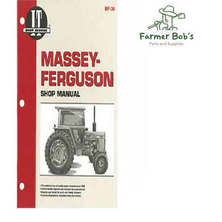 I&T Shop Manual, Massey Ferguson - MF285 Farmer Bob