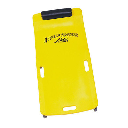 Lisle 93102 250 300 lb. Capacity Low Profile Plastic Creeper (Yellow) by Lisle