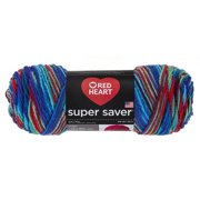 Super Saver Yarn, Heartfelt, 100% Acrylic By Red Heart