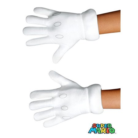 Kids Super Mario Bros Gloves (Cute Mario Bros Halloween)