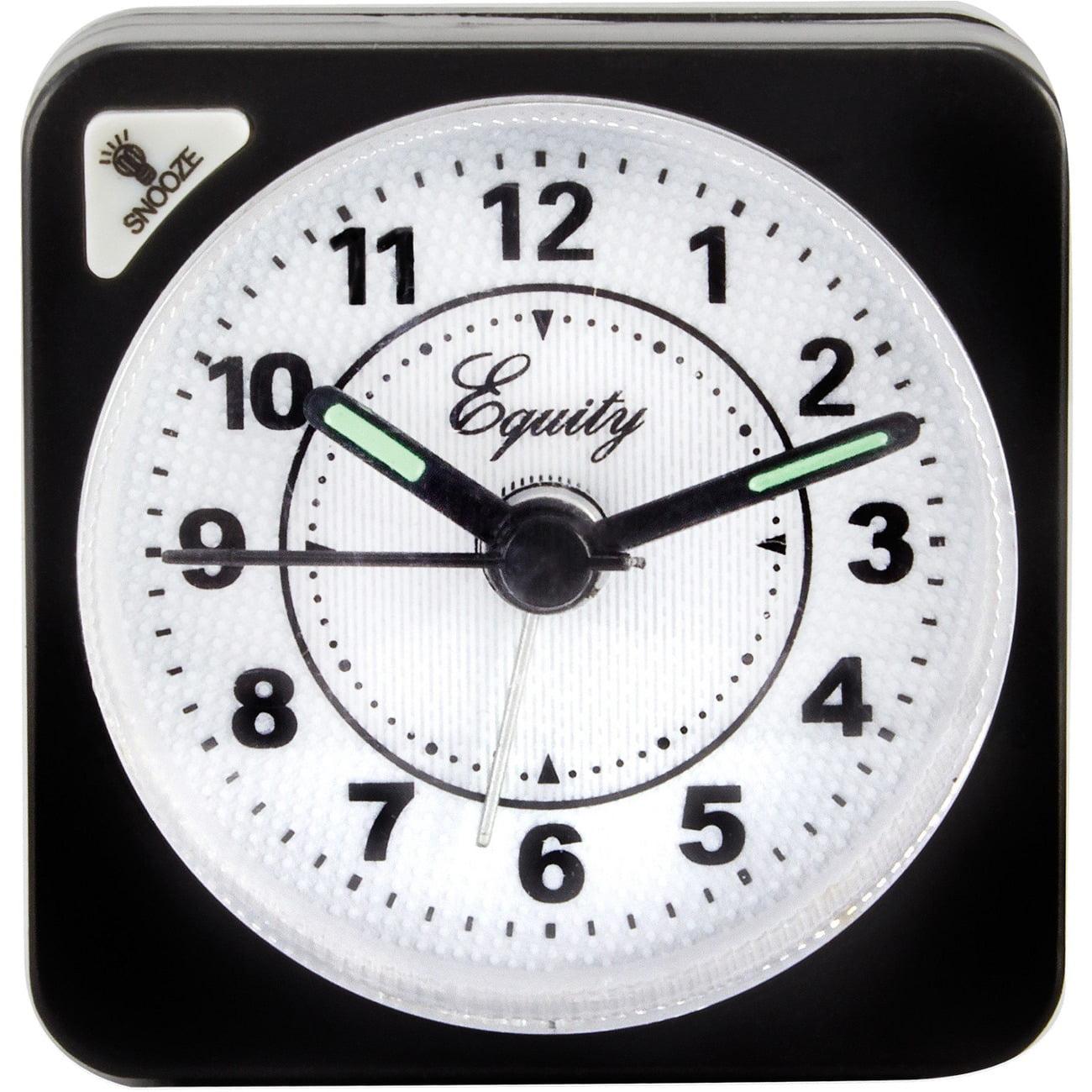 Equity by La Crosse 20078 Quartz Travel Alarm