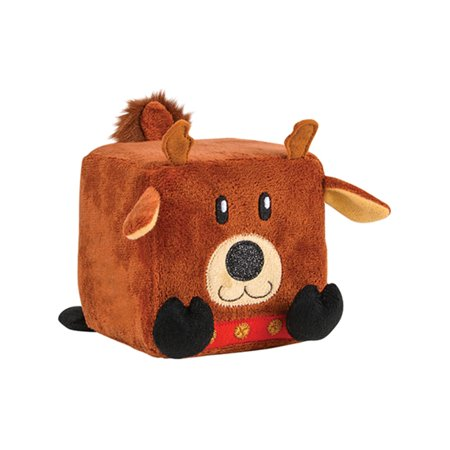 - Reindeer Christmas Winter Season Cube Figure QUBZ Decoration 4.5