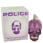 Police Colognes Police To Be Eau De Parfum Spray for Women 4.2 oz
