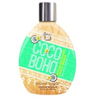 Coco Boho Tanning Lotion with 200X Natural Bronzers. 13.5 fl oz