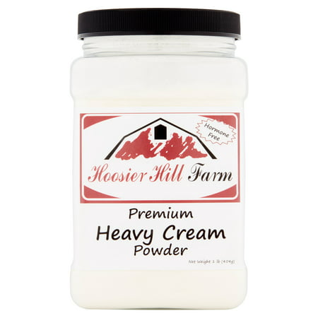 Hoosier Hill Farm Heavy Cream Powder, 1 lb plastic -