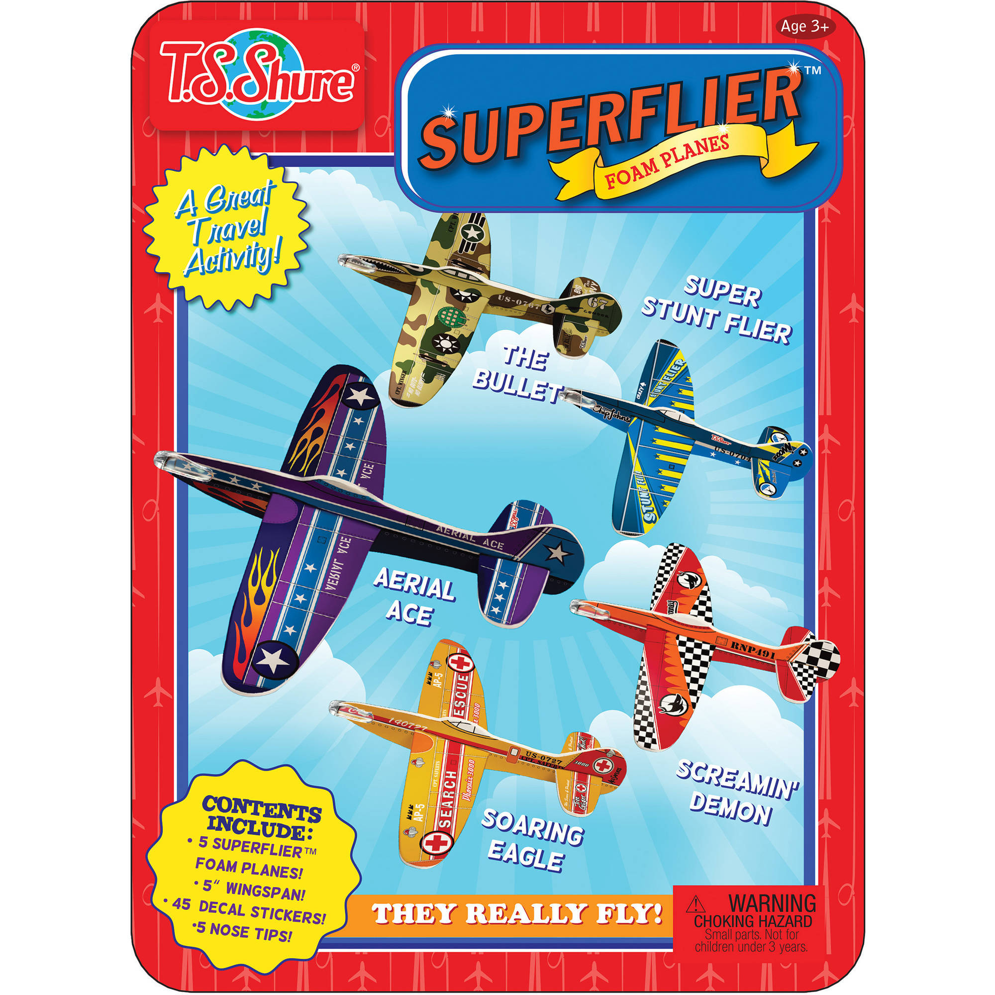 T.S. Shure Superfliers Activity Tin
