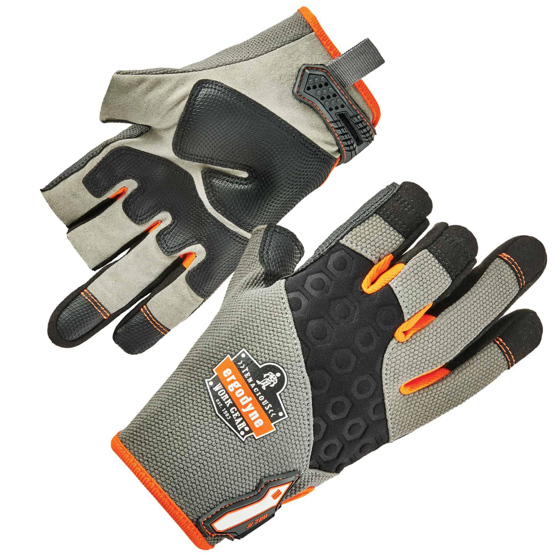 Ergodyne ProFlex® 720 Heavy-Duty Framing Gloves, Gray, L