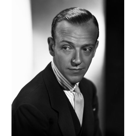 Fred Astaire Posed with a Straight Face in Suit Wrinkles on the Forehead Photo Print