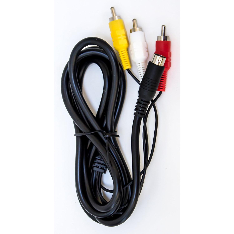 Sega Genesis 2, 3, Nomad, or 32x Standard AV Cable (Bulk Packaging)