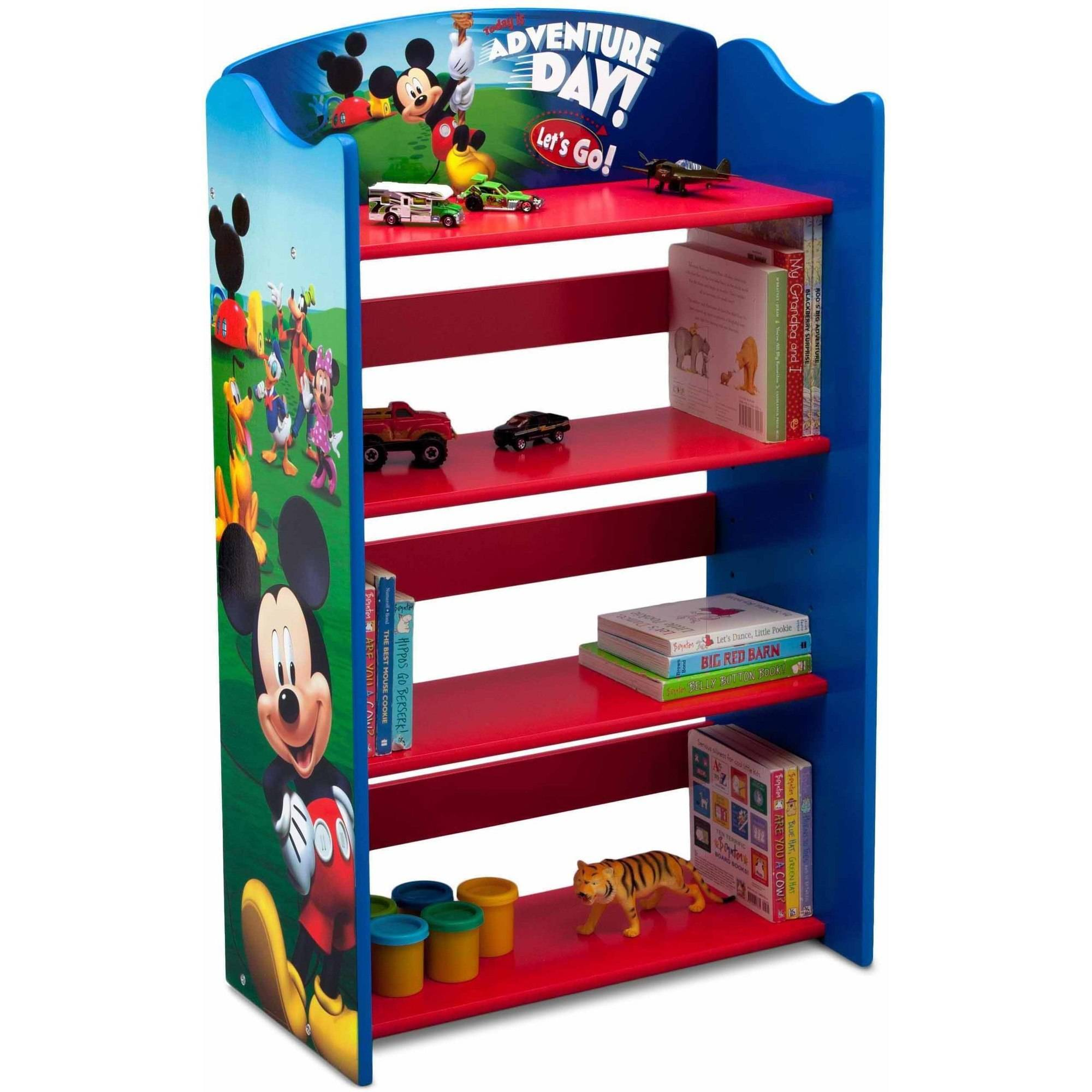 Disney Mickey Mouse Wood Bookshelf by Delta Children