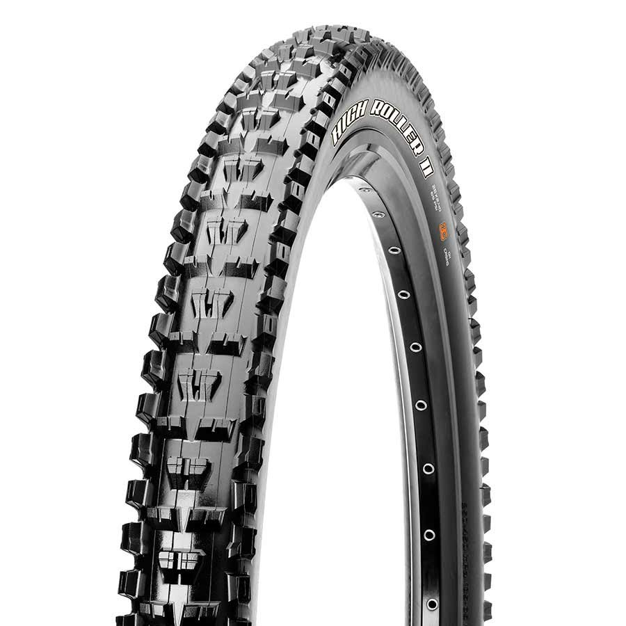 Maxxis, High Roller II, 27.5x2.40, Wire, Single, Clincher, 2-ply, 60TPI, 65PSI, Black