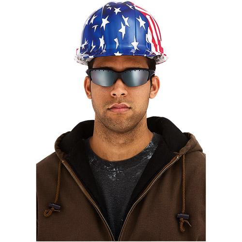 3M TEKK Protection Stylish Hard Hat, U.S. Patriotic