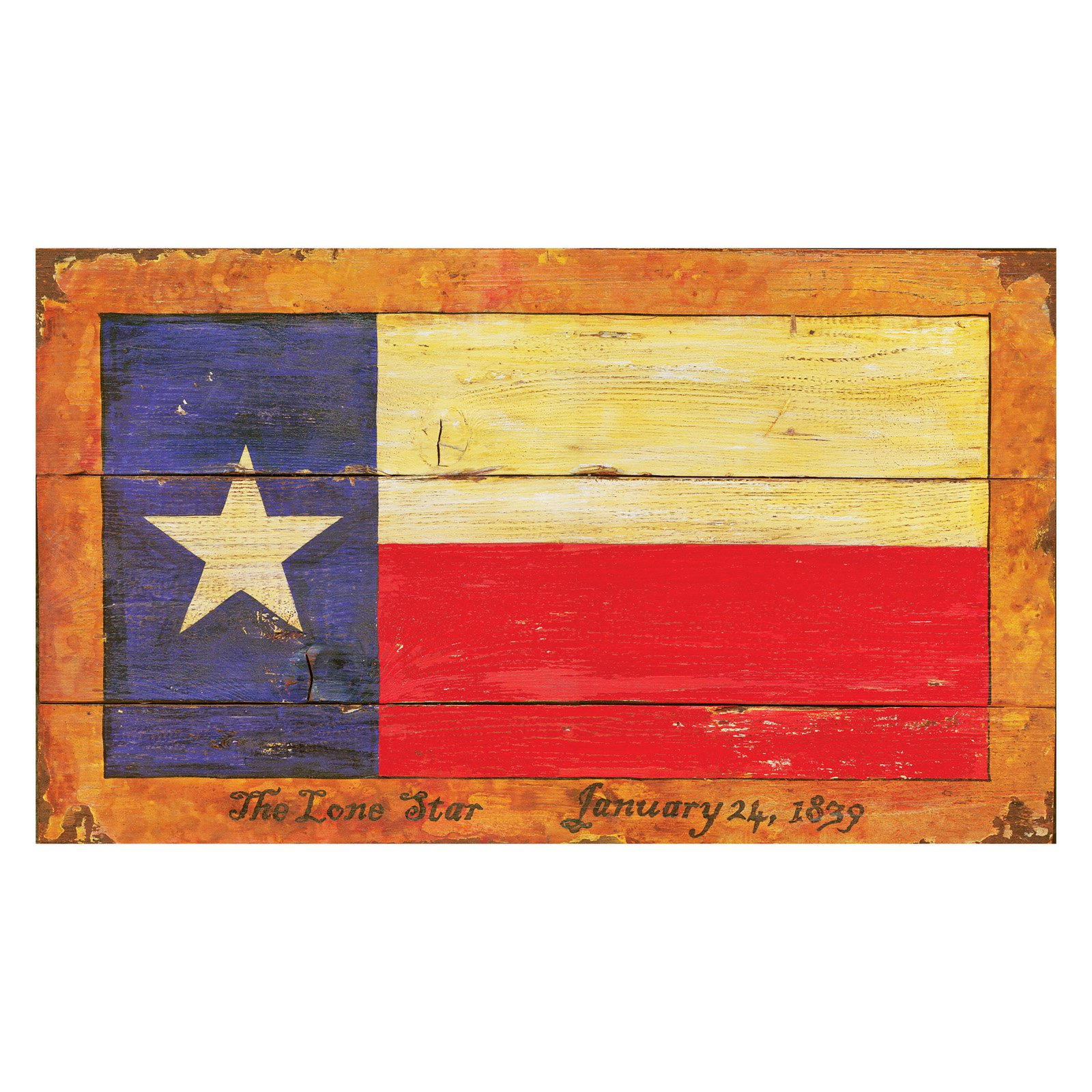 Texas Flag Wall Art