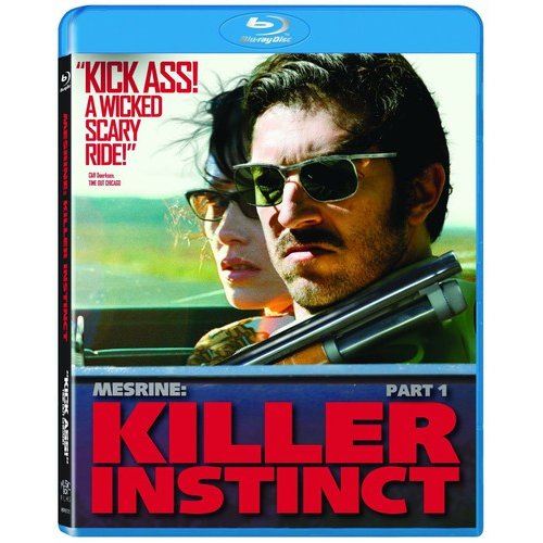 Mesrine: Killer Instinct (French) (Blu-ray)