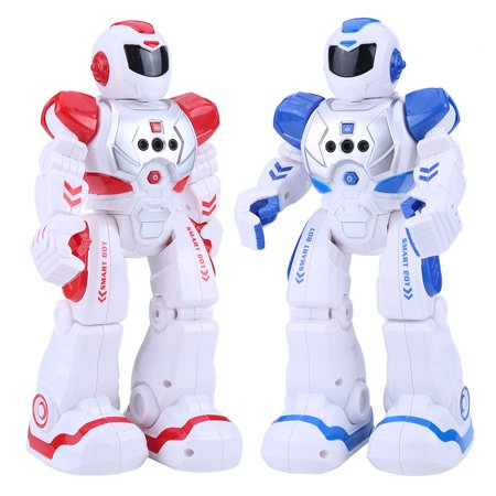 Tbest 2Colors Kid Remote Control Intelligent Robot Gesture Sensor Singing Dancing Educational Toy , Robot Toy, Intelligent Robot