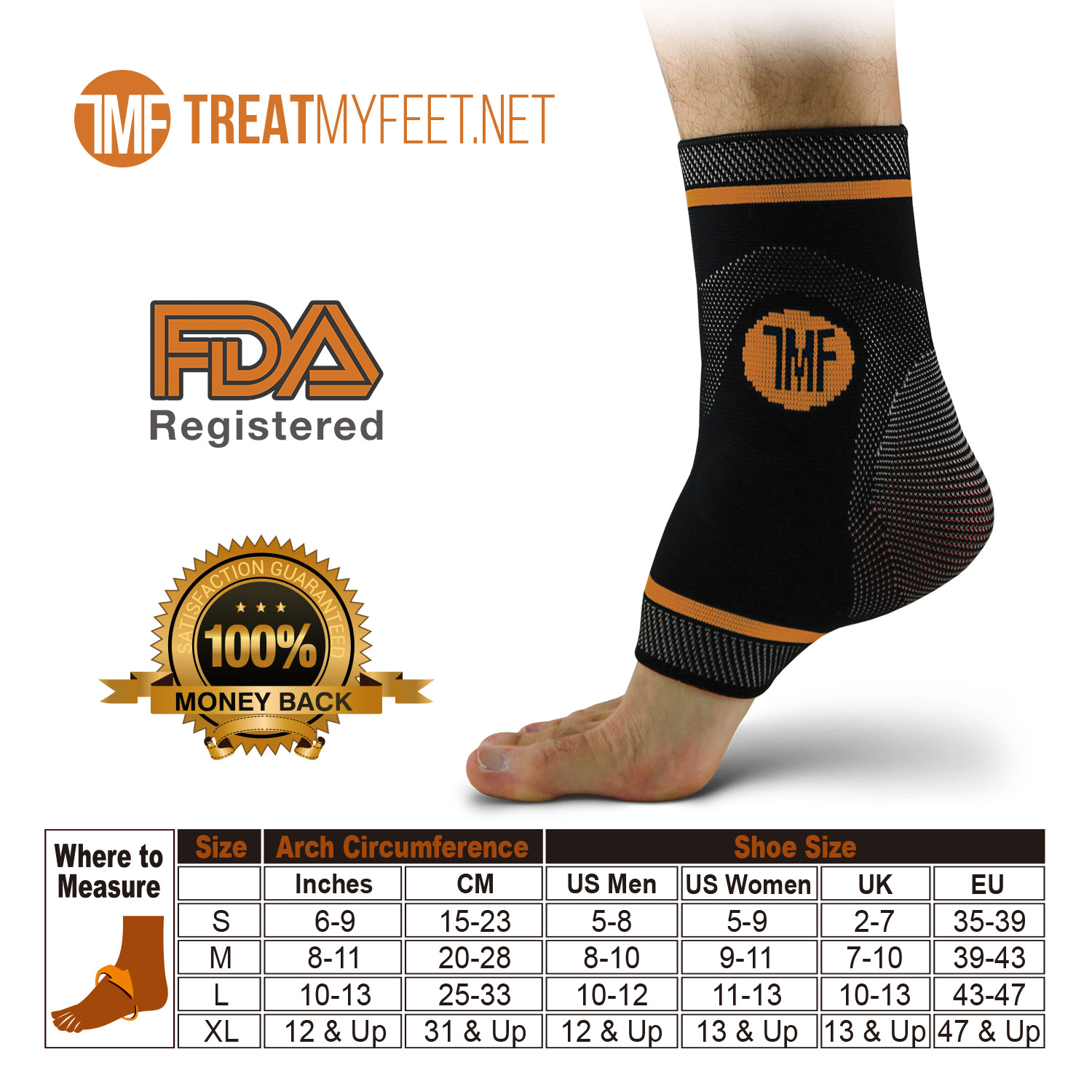 Pain Relief from Plantar Fasciitis Silicone Ankle Sleeve Support Achilles Tendonitis- Reduce Foot Swelling /& Prevent Ankle Injuries Thx4COPPERr Infused Compression Ankle Brace