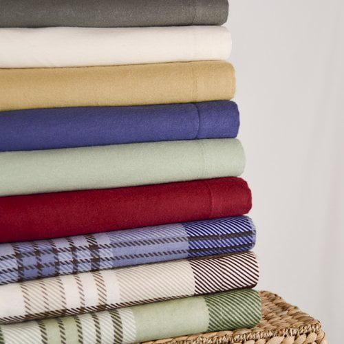 Wildon Home  Winter Nights 4 Piece Cotton Flannel Sheet Set
