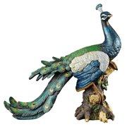 Design Toscano Palace Peacock Garden Statue