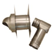 Noritz Single-Wall with Horizontal Termination Vent Kit