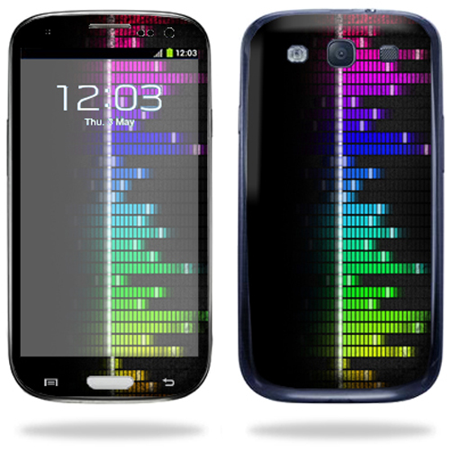 Mightyskins Protective Vinyl Skin Decal Cover for Samsung Galaxy S III S3 Cell Phone wrap sticker skins Keep The Beat