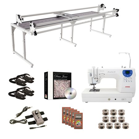 Grace Speed Control - Janome MC6300P Grace 10' Continuum with Speed Control Machine Quilting Combo 5