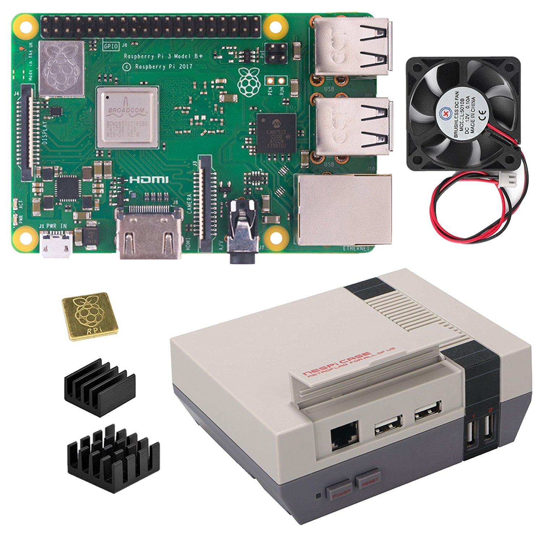 Berryku NESPi Basic Kit - NESPi Case with Raspberry Pi 3 B+ (B Plus