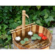Bamboo Accents 24-in. Adjustable Spout and Pump Fountain Kit