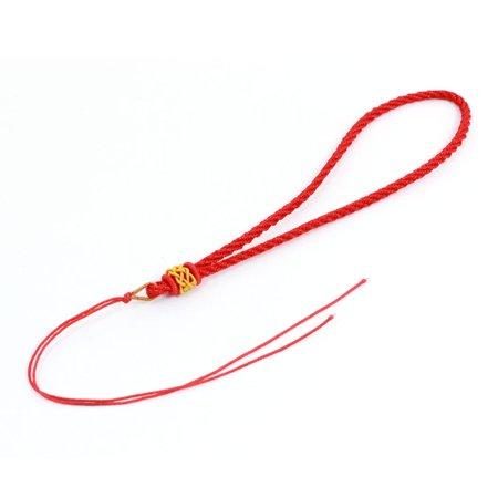 Unique Bargains Twisted Band Textured Work Card Cell Phone Hand Strap Stringg Red - image 2 of 2