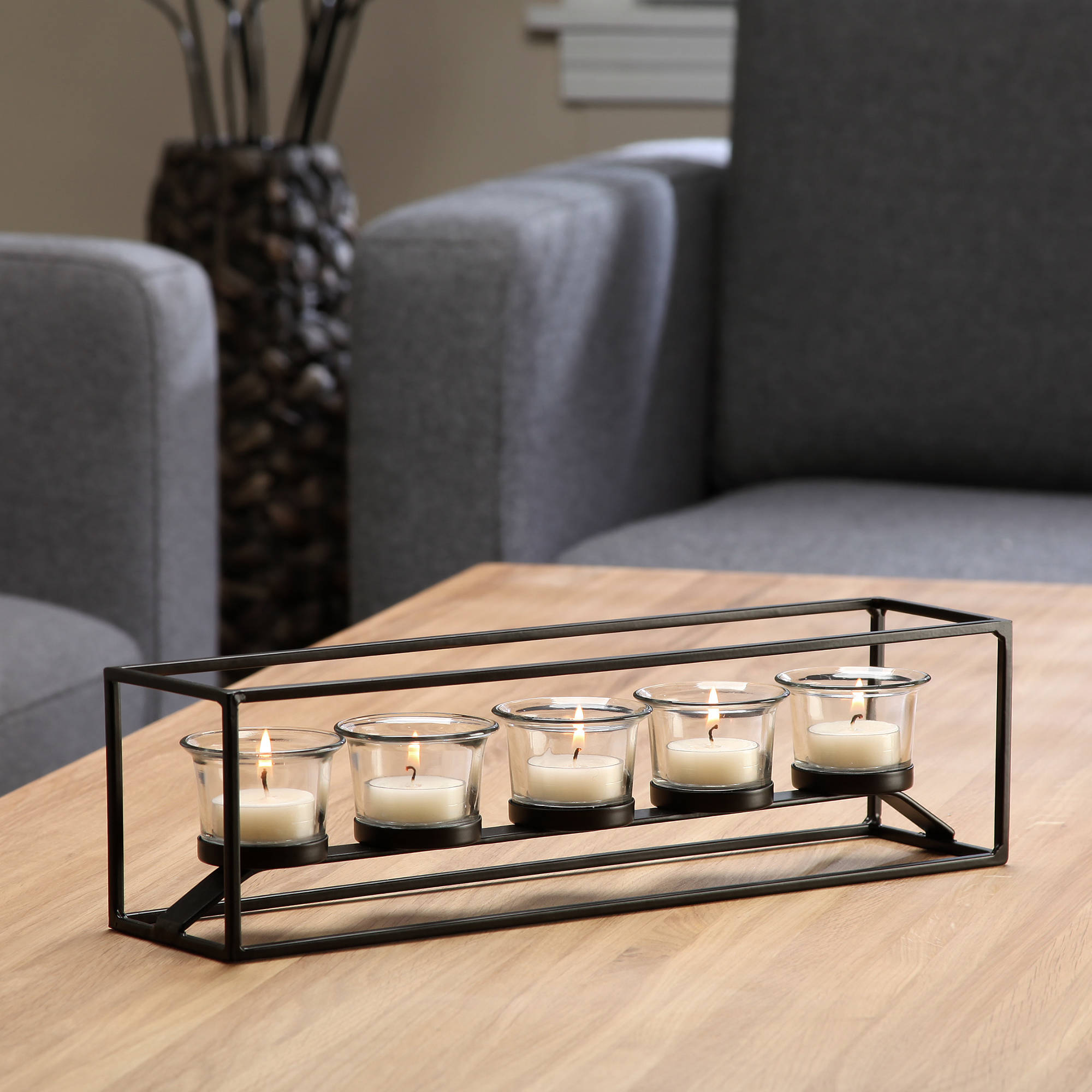Better Homes and Gardens 5-Light Metal Tealight Candle Holder by HG Global, LLC
