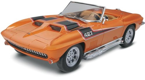 '67 Corvette 427 Roadster Plastic Model Kit By Revell by