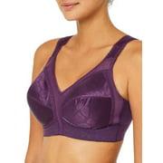 Playtex Womens 18 Hour Original Comfort Strap Wire-Free Bra Style-4693
