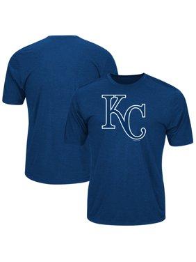 23728bc60 Product Image Men's Majestic Royal Kansas City Royals Big & Tall Statement  Logo T-Shirt